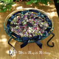 Witches Sacred Offering Bowl . For Offerings, Potpourri, Herbal Blends, Crystals, Candles and More