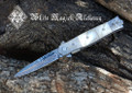 White Magick Damascus Athame