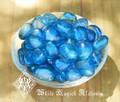 Aqua Aura Gemstones Small . Natural Crystals