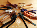 Grandfathers Sacred Directional Enegy Dispursement Wands . Or Small Wands /Talking Sticks . Choose Color