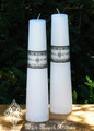 White Altar Candles . Healing, Spirituality, Truth, Purity, Clearing, Goddess Energy