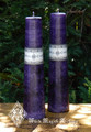 Purple Altar Candles . Healing, Spirituality, Truth, Purity, Clearing, Divine Energy