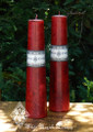Red Altar Candles . Love, Fertility, Health, Strength, Courage, Magnetism