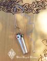 20% OFF - Seven Stone Chakra Gemstone/Crystal Quartz Pendulum in Sterling Silver