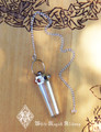 20% OFF - Seven Stone Chakra Gemstone/Crystal Quartz Pendulum in Sterling Silver