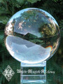 "Crystal Glass Ball and Stand 2"" for Divination Workings, Scrying, Foretelling the Future"
