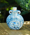 Sleeping Kitty Ceramic Bottle . Spell Oils, Diffuser, Ashes, Pendant