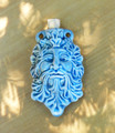 Greenman Ceramic Bottle . Spell Oils, Diffuser, Ashes, Pendant