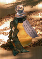 Burnished Amber .5 oz with Pure Golden & Dark Amber Resin . Alchemy Perfume Potion