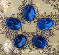 Blue Onyx Worry Stones . Intuition, Divination, Strength, Change, Balance, Grounding, Focus, Self Confidence