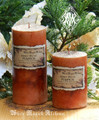 Honey Pecan Pumpkin Candles