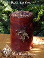 Blasted Oak Candles WIccan Pagan