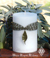Pineapple Sage Candle . Peace, Happiness, Inviting in Good Energy