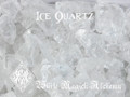 Ice Quartz Crystals Clear Raw Diamond Nuggets Brazil