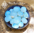 Opalite Tumbled Gemstone Jumbo . Meditation, Peace Worry, Success