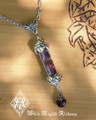 Witches Amulet Alchemy Pendant Charm Necklace . Ultimate Power Talisman