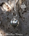 Silver Drop Pendulum Divination Point