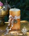Honey Bee Candles . Wisdom, Love, Attraction, Healing, Bee Magic
