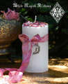 La Luna Alchemy Pillar Candles for Moon Magick