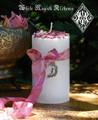 La Luna Alchemy Pillar Candles for Moon Magick