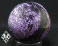 "Charoite Sphere 2"" AA Rare Gemstone the Stone of Transformation"