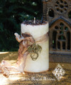 Vanilla Dragon Alchemy Magick Candle Sexual Energy, Passion, Love, Sacred Fertility, Protection and Shielding from Negativity
