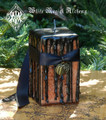 Hallows Eve Witches Magick Candle 2x3 Square