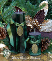 *Juniper and Holly Yule Tree Pillar Candles