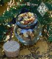 Frankincense and Myrrh Honey Heartwood Resin Pot