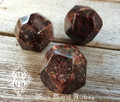 Faceted Garnet Gemstone Jumbo . Protection, Healing, Success, Passion, Faerie Workings