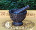 Celtic Pentacle Mortar and Pestle