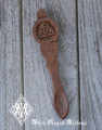 Triquetra Sheesham Wood Ritual Spoon