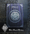 Spell Book . Book of Spells Old World Midnight Amethyst 5x7