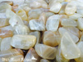 Moonstone Set of 2 Medium . Intuition, Love, Mental Clarity