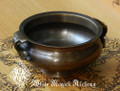 "Bronze Age Cauldron Offering Bowl Pot Large 5"". For Incense, Resins, Sage"