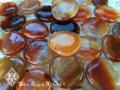 Carnelian Palm Stones Worry Stones