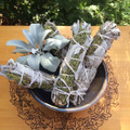 White Sage & Juniper Smudge Wands Wildcrafted