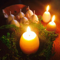 Ostara Easter Egg Candles with Appearing Yolk Set - 2