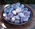 Charoite Gemstone Tumbled . Stress Anxiety, Panic, Blood Pressure, Insomnia