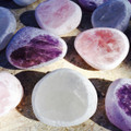 Seer Stones, Windows, Dreamer Crystals . Quartz, Amethyst & Rose Quartz