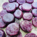 *Lepidolite Gemstone Medallions, Healing Stone of Transformation
