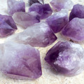 "Amethyst Raw Natural Points from Brazil Large Pieces 2.5"" to 3"""