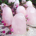 Rose Quartz Standing Freeform for Peace, Compassion & Love