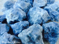 Blue Calcite Gemstones Natural Raw Jumbo