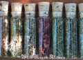 Organic Herbal Old World Alchemy Sacred Herb and Flower Vials . Set of 12 . Your Choice