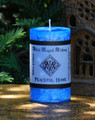 PEACEFUL HOME Spell Candle . Reduce Tempers and Arguments, Bring Peace and Calm into the Home