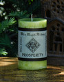 PROSPERITY  Spell Candle . For Success in Business, Abundance and Money Drawing Spells