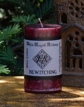 Bewitching Spell Candle, Enchanted Witchery Love, Attraction