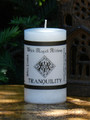 TRANQUILITY  Spell Candle . Serenity, Calm, Peaceful Thoughts, Feelings and Meditation
