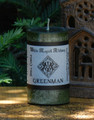 GREENMAN Spell Candle . Great Spirit of Nature, Cycles of Life, Harvest, Nature and Animal Workings